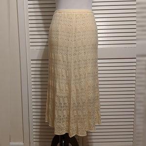 Anthropologie Wool Blend Knit Skirt